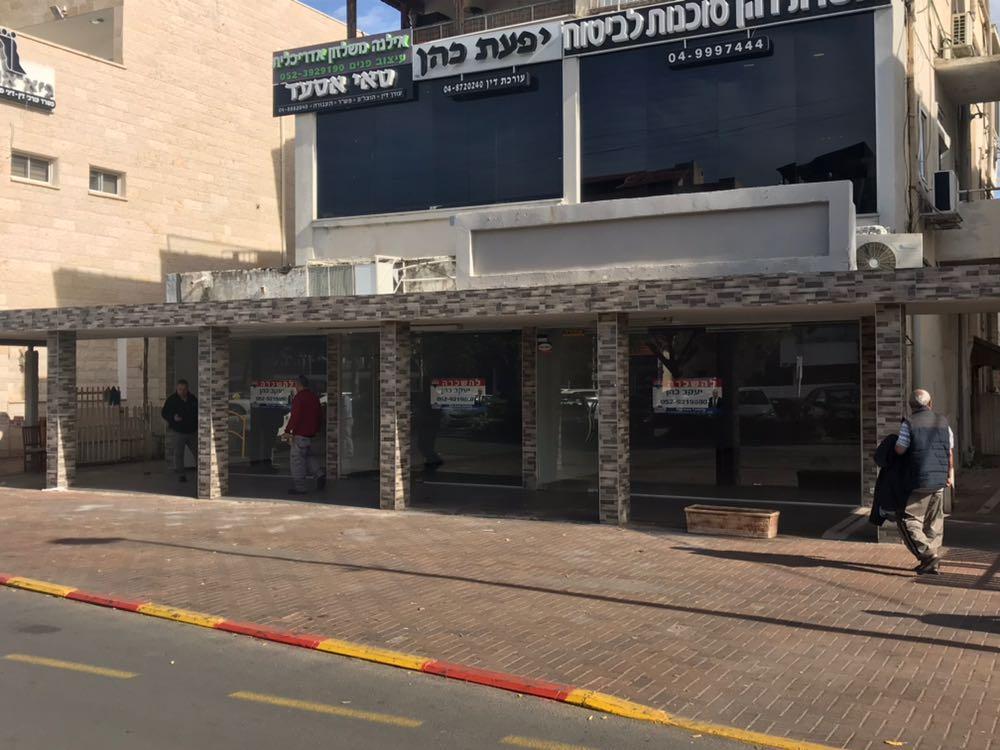 חנות בציר הכי ראשי ברחוב גושן בקרית מוצקין