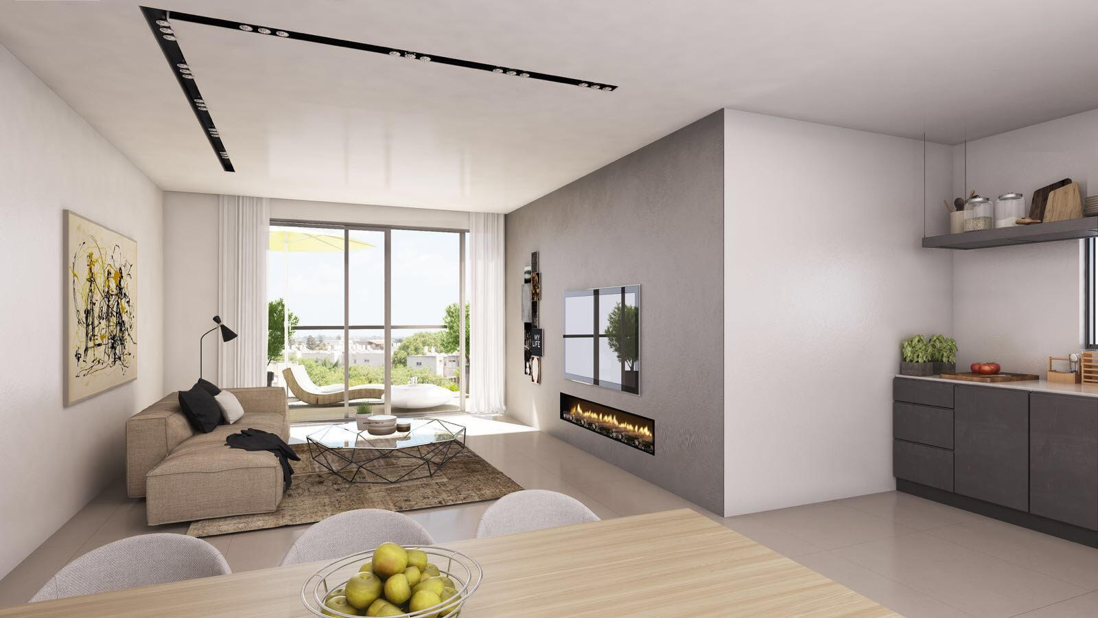 דירת 4 חדרים חדשה מקבלן בקריית מוצקין