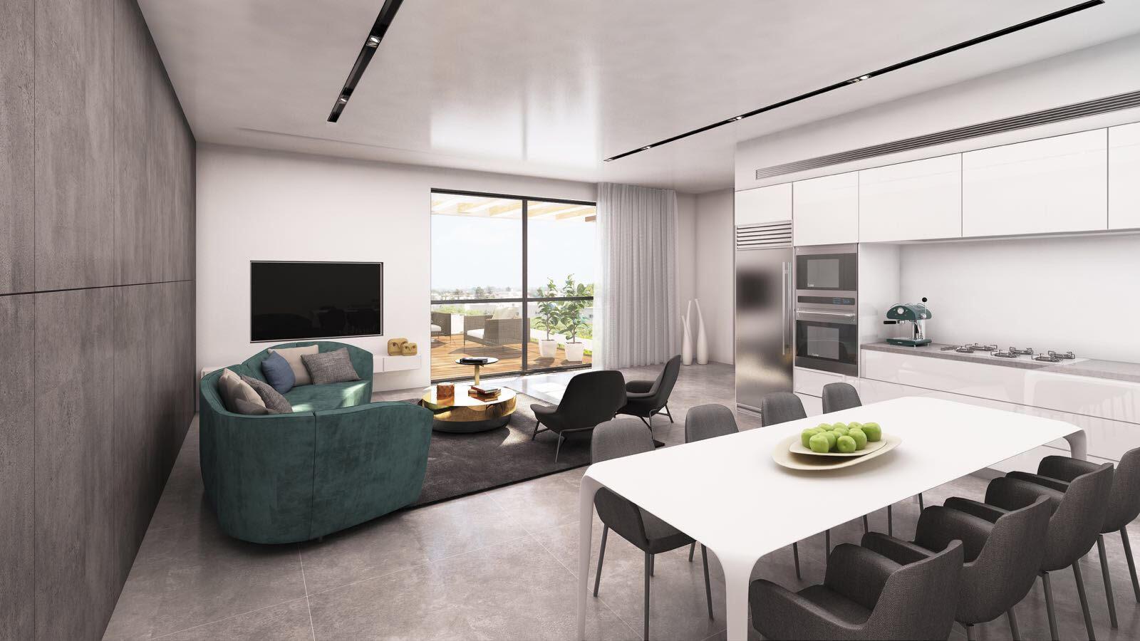 פנטהאוז 5 חדרים חדש מקבלן בקריית מוצקין