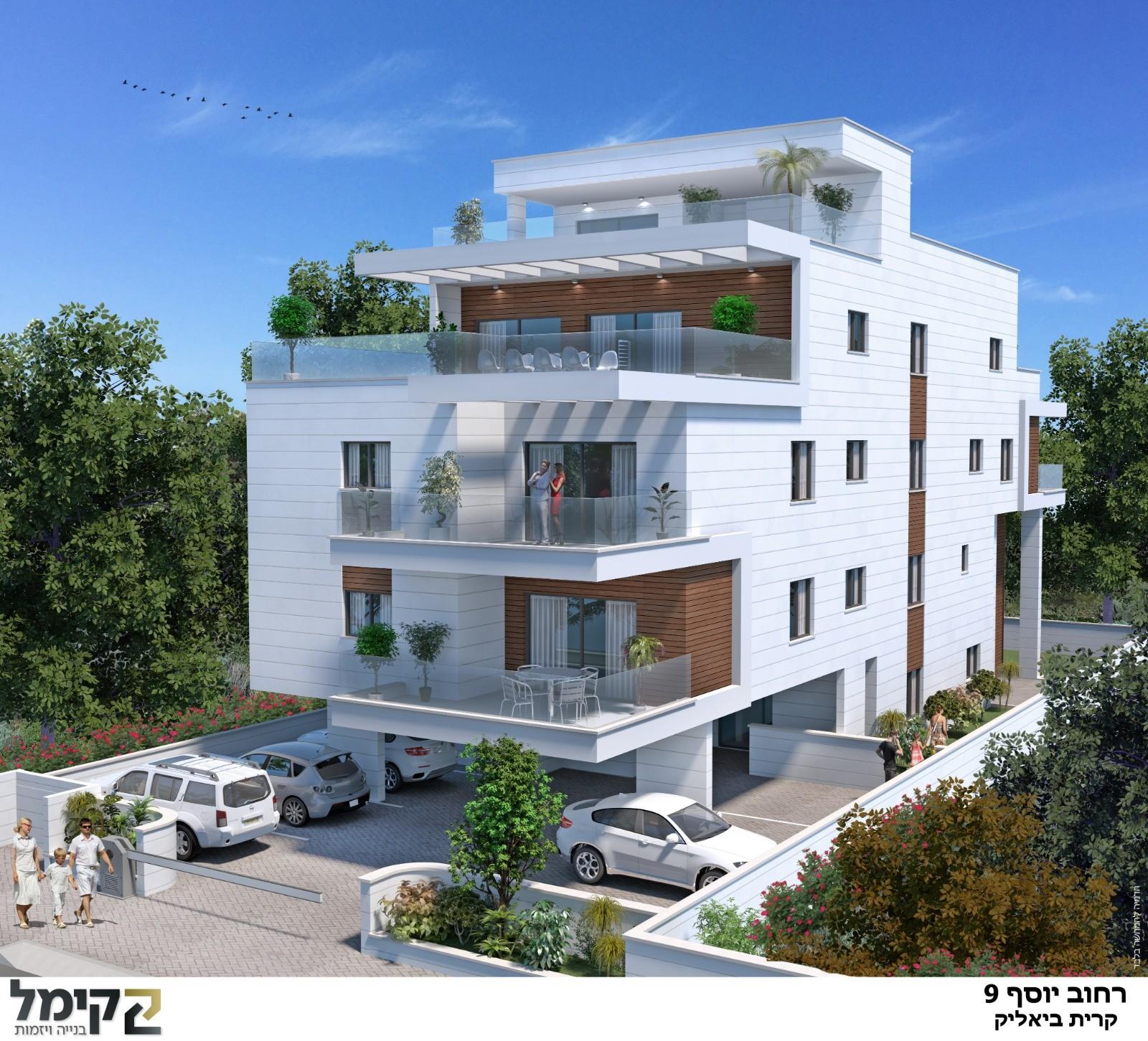 דירת גן מקסימה בבניין בוטיק חדש!