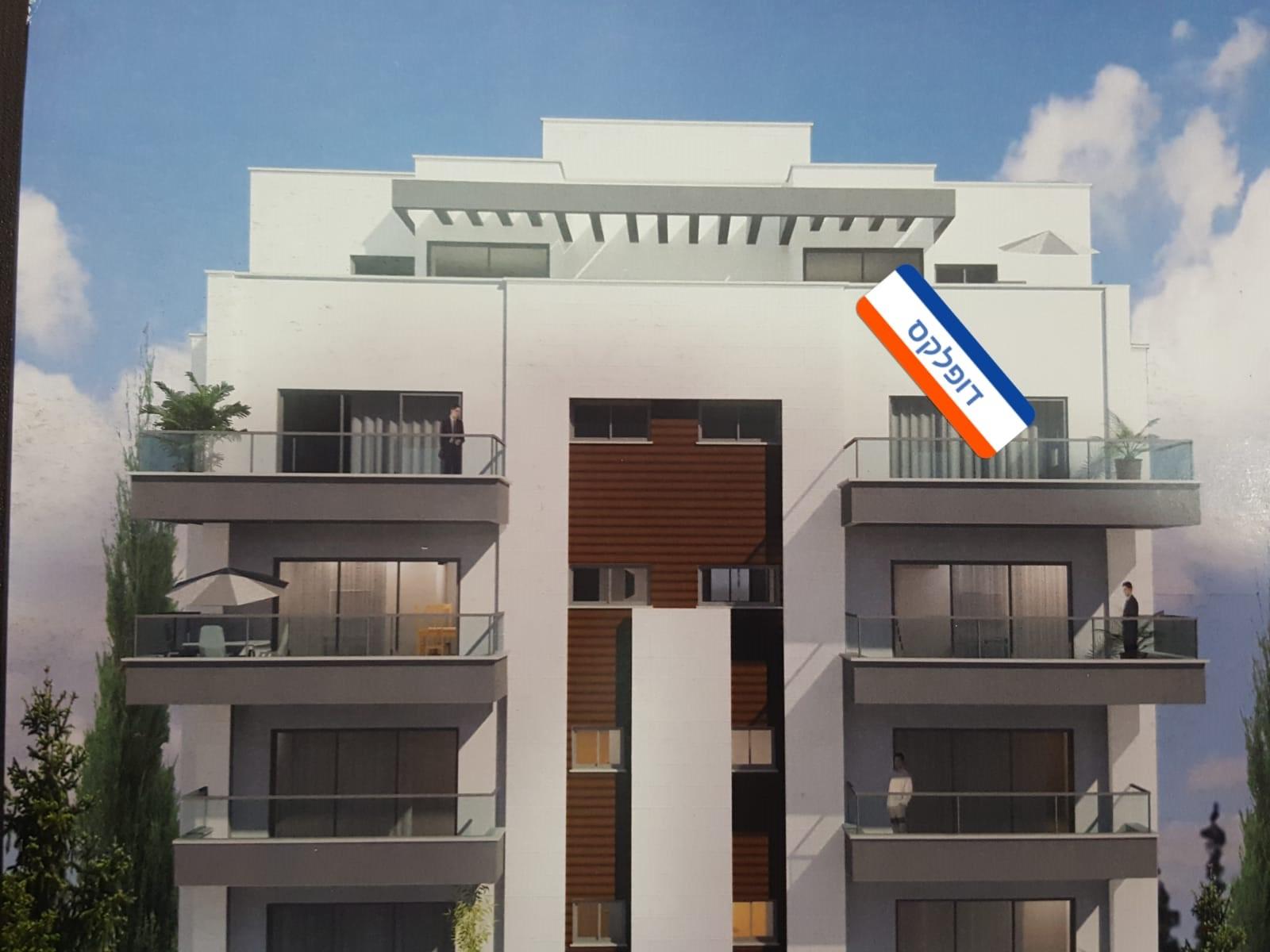 למכירה דופלקס 6 חד' חדש ברח' שמשון בחיפה