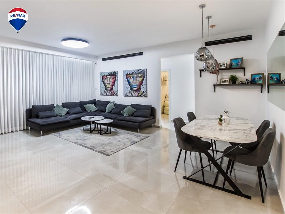 דירת 4 חדרים יפה ומושקעת בקריית מוצקין