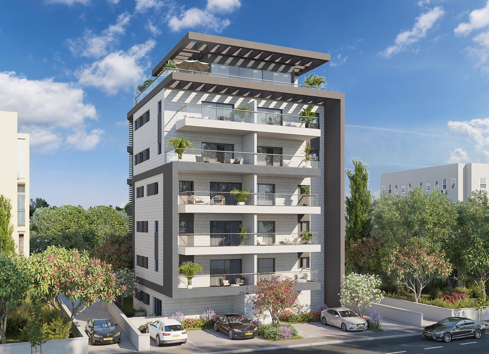 דירת גן ברחוב מבוקש בביאליק